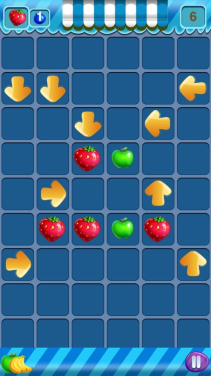 Fruit Diminshing Free - A Cute Puzzle Game screenshot-3