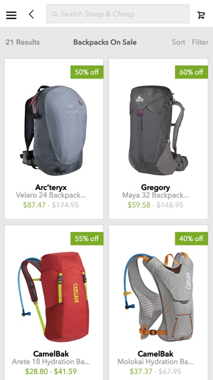 SteepandCheap.com – Daily Discounted Outdoor Gear Deals screenshot-3
