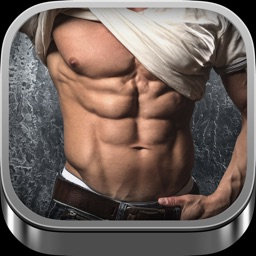 Six Pack Stickers - Fitness Photo Editor and Muscular Abs Camera for Perfect Gym Body