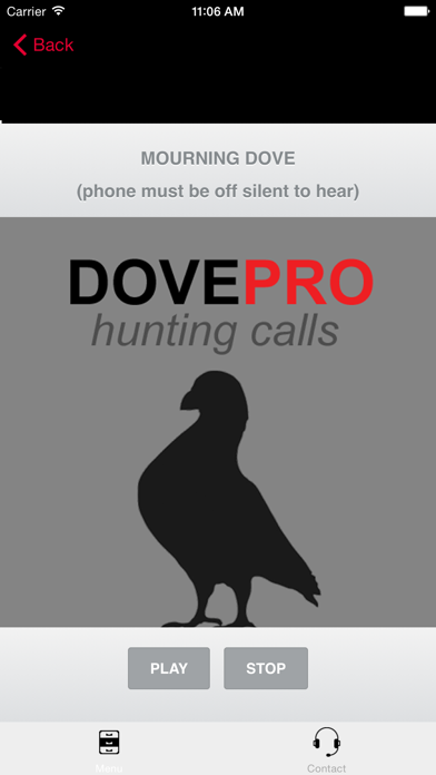 REAL Dove Sounds and Dove Calls for Bird Hunting! screenshot one