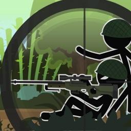 Sniper Shooting :Prison Escape - Real Jungle Survival Puzzle Game