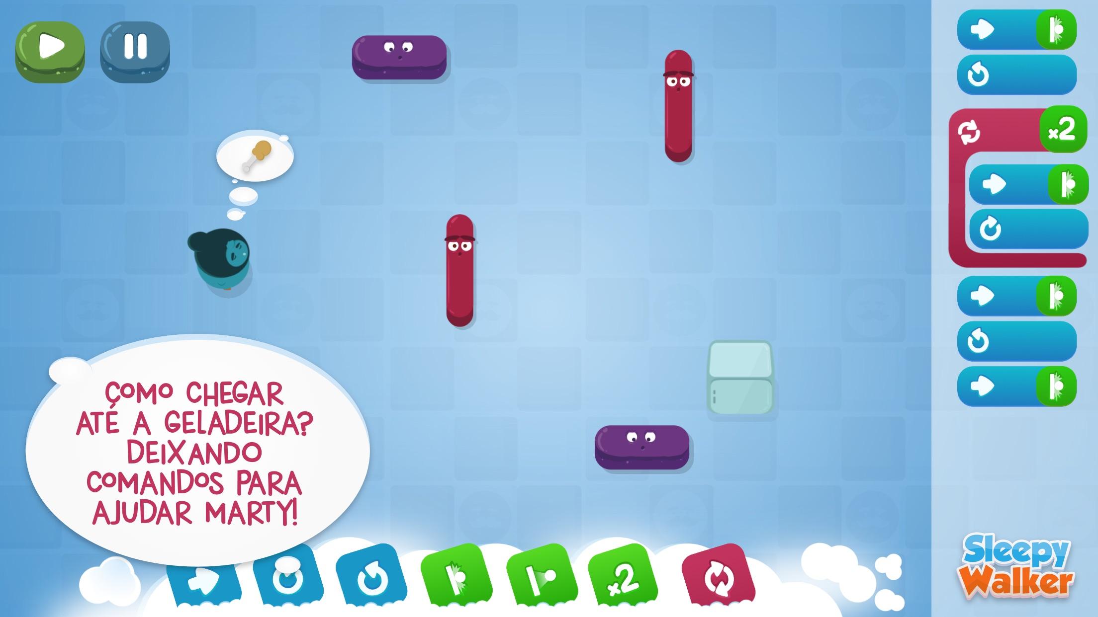 Screenshot do app Sleepy Walker