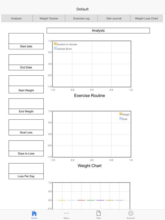Personal Weight Tracker screenshot-4