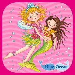 Prinzessin Lillifee und die Seejungfrau – Bildergeschichte, Malspaß, Stickerzauber