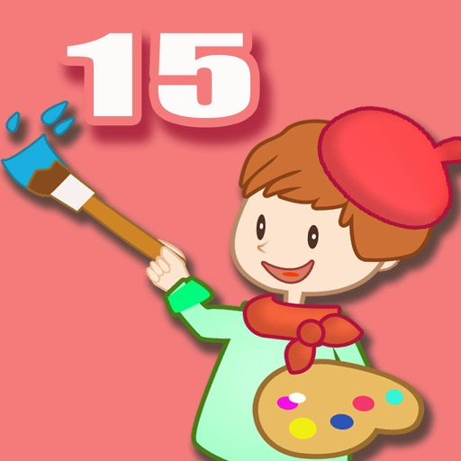 ABC Coloring Book 15 -  Making the Scence in birthday Colorful iOS App