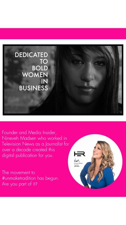 HER Magazine - Publication for Women in Business screenshot-3