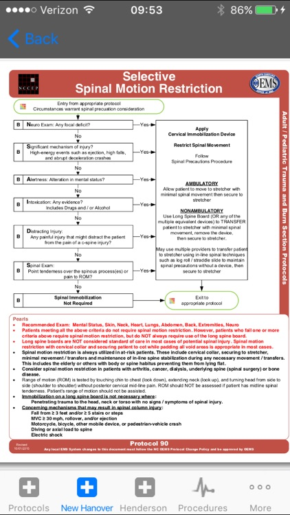NC EMS Protocols