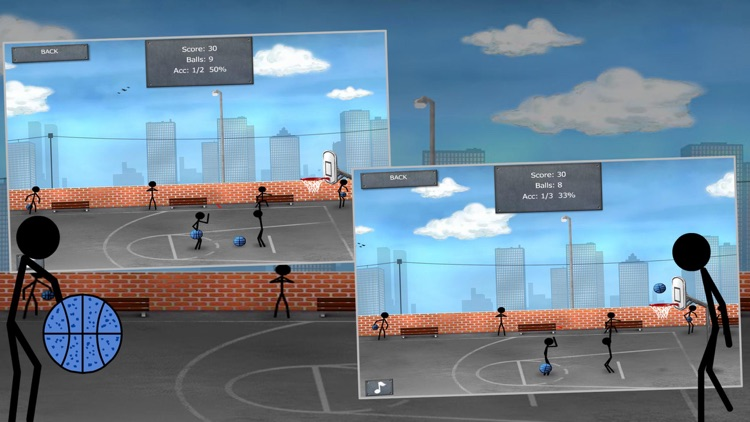 Stickman Street Basketball screenshot-3