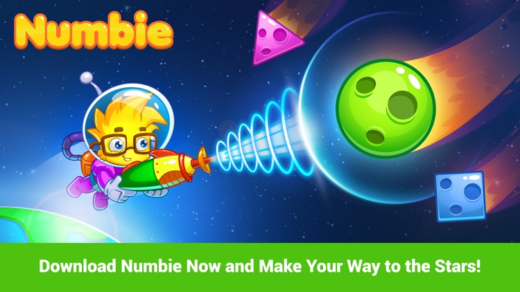 Math for Kindergarten and Pre-School Children with Numbie screenshot-4