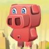 小猪快跑:大冒险 - 帮助饥饿的小猪找到回家的路