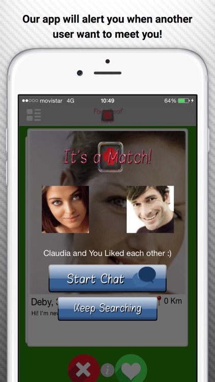 The Four-Leaf Lover - Dating and Flirt network to find matches with local people