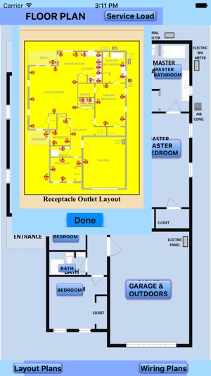 Electrical wiring layout diagrams on the app store iphone ipad cheapraybanclubmaster Gallery