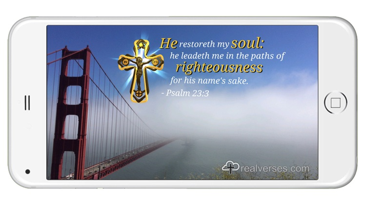 Real Verses - Daily Bible verses and photos using augmented reality. screenshot-0