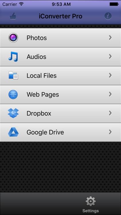iConverter Pro – PDF, Ringtone Converter