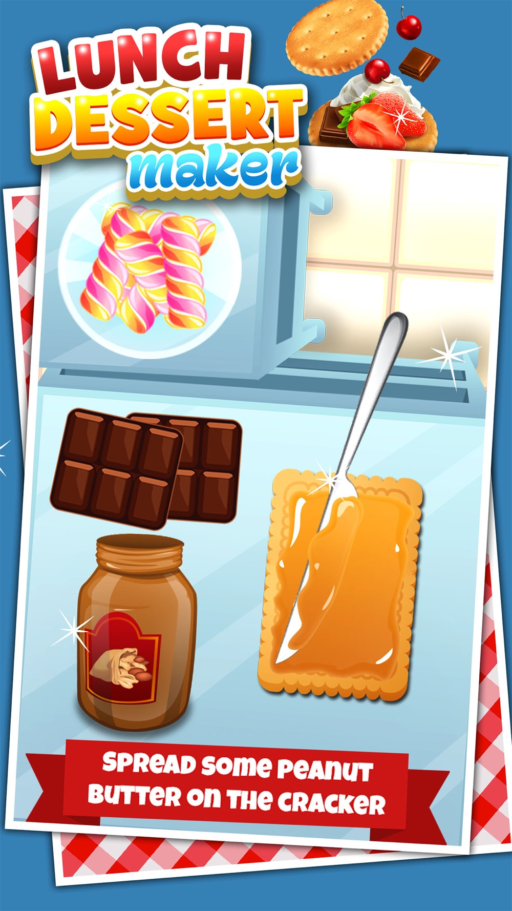 Lunch Dessert Food Maker Games for Kids Free Cheat Codes