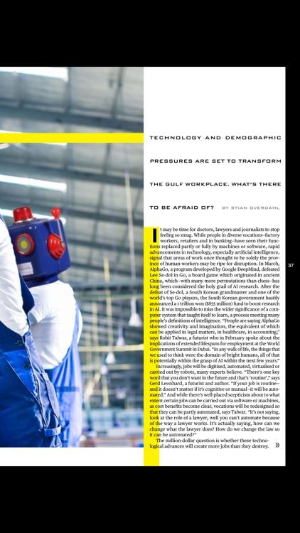 Bloomberg Businessweek Middle East Magazine screenshot-3