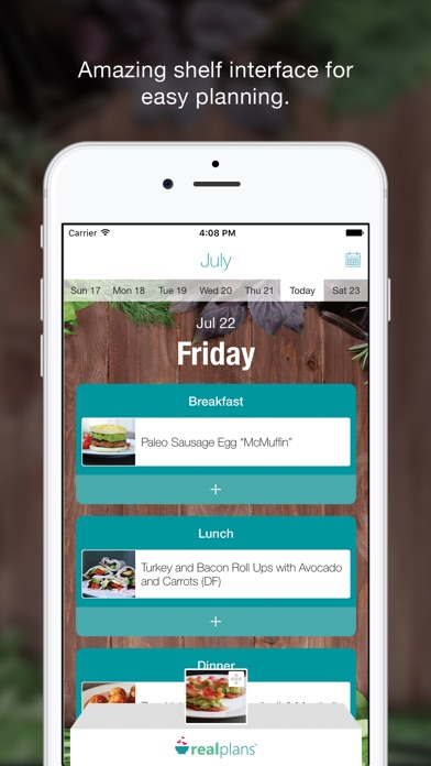 Real Plans - Meal Planner & Shopping List app image