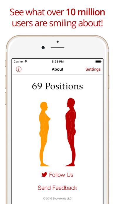 69 Positions review screenshots