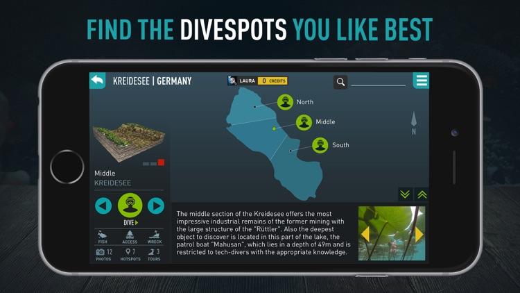 Kreidesee Scuba Diving by Ocean Maps screenshot-3