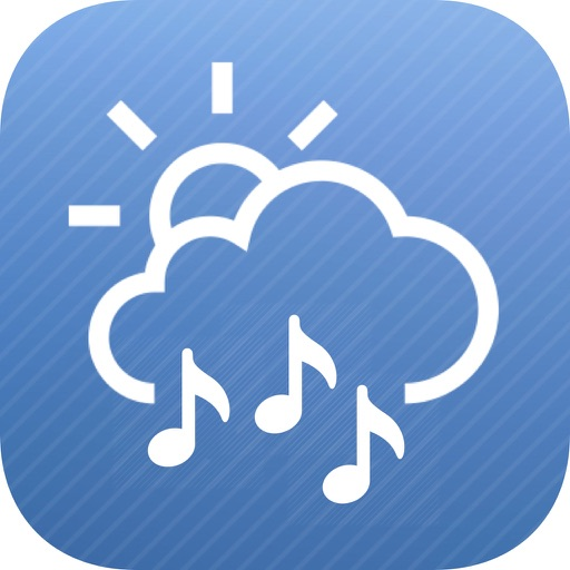weatherTunes - Weather based radio/discovery. The right tunes for right now.