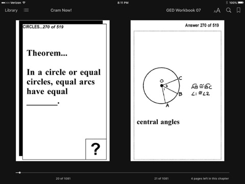 GED Test Prep Geometry Review--Exambusters Flash Cards--Workbook 7 of 13 by  GED Exambusters on Apple Books