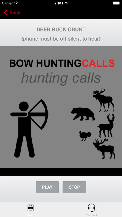 Bow Hunting Calls - Premium Hunting Calls For Archery Hunting Success screenshot-0