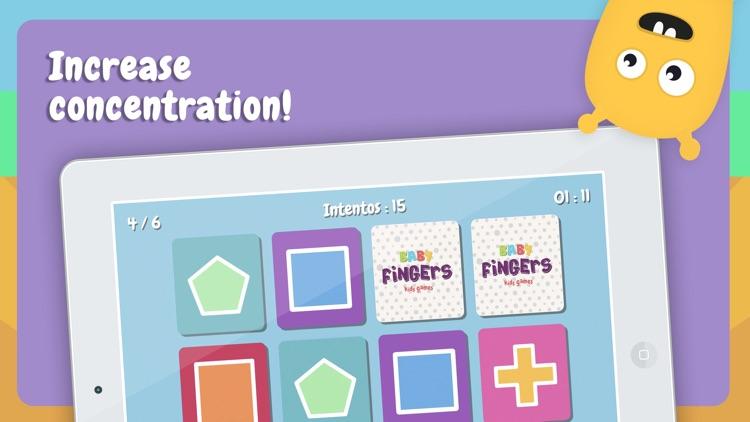 Baby Fingers Memory Cards screenshot-3