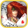 Pirate Solitaire. Sea Wolves Free