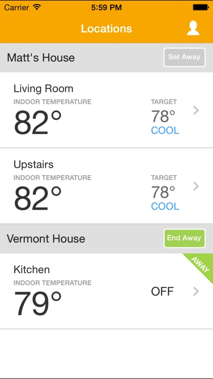 EnergyHub Thermostat screenshot-2