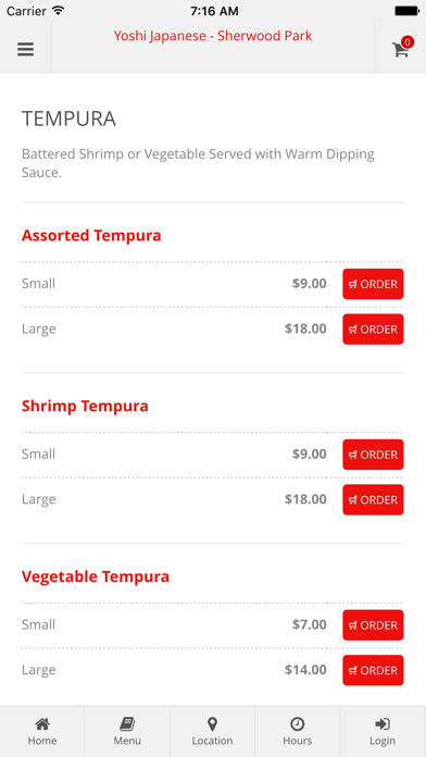 Yoshi Japanese - Sherwood Park Online Ordering screenshot three