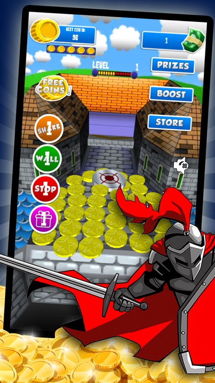 Coin Pusher - Casino Castle Free Prizes by Shanza Nasim