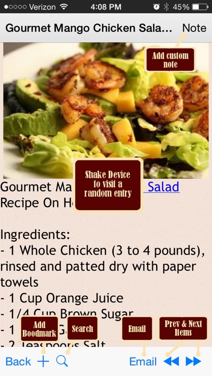 230 HCG Diet Recipes screenshot-0