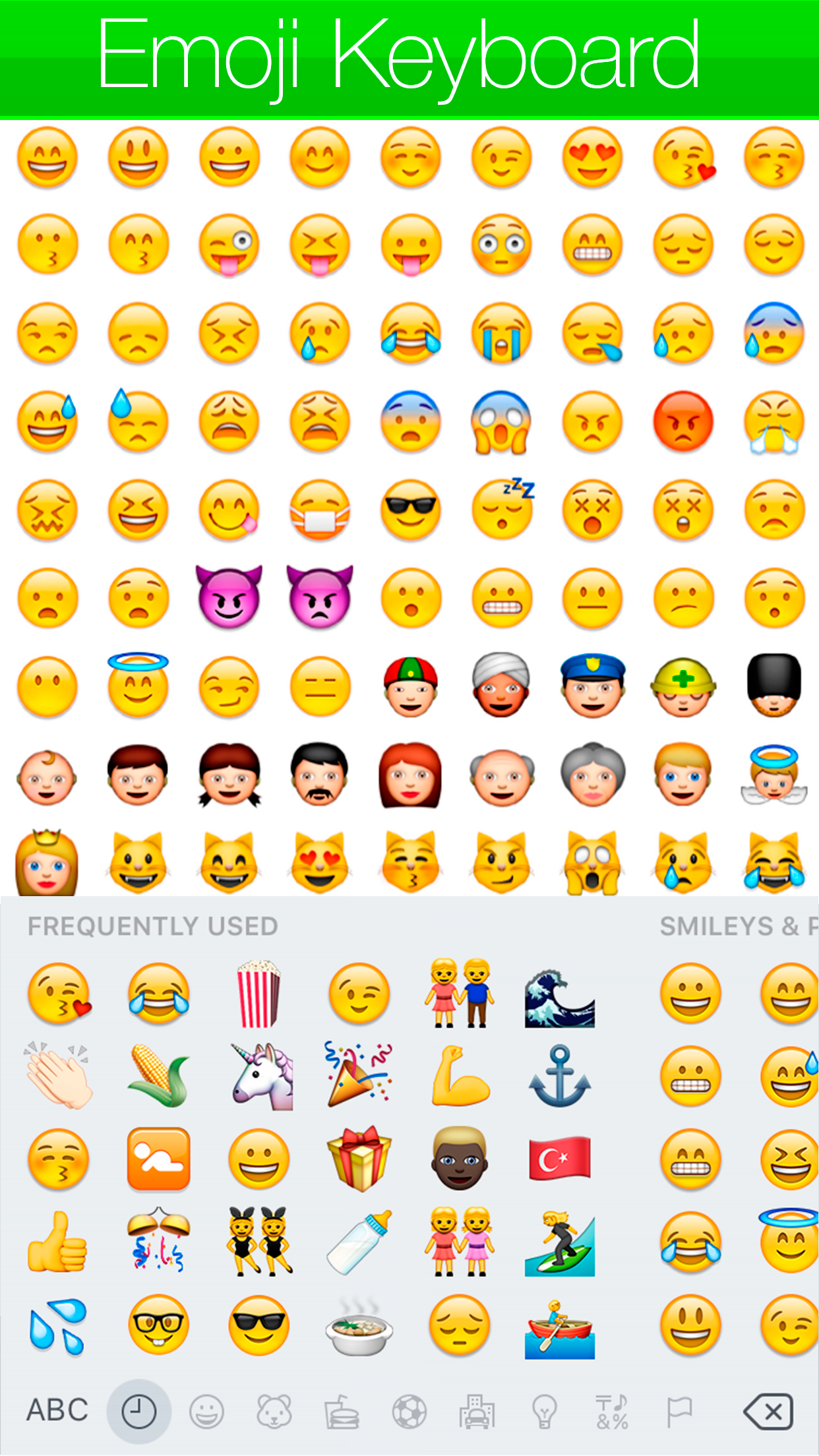Emoji - Keyboard Screenshot