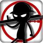 A Stickman Shooter - Gratis Stickman Tiro Giochi icon