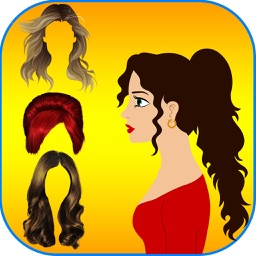 Hairstyles Makeover Booth -  The hair styles collection for christmas and halloween season