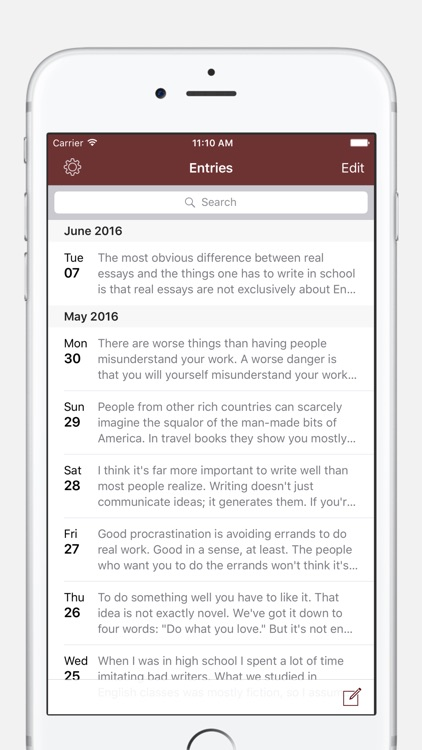 Chronicle - A Personal Journal / Writing Diary screenshot-0