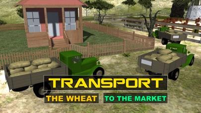simulador de granja cosechadora - Cría de conducir el tractor y camión juego de simuladorCaptura de pantalla de2