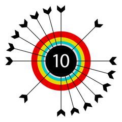 Twisty Arrow Qubes - smashy shooty risky darts! Ambush Archery game!