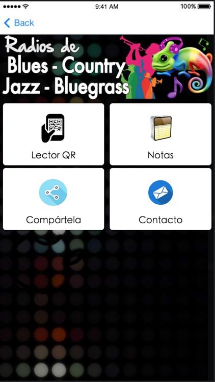 Emisoras de Radio de Música Blues Jazz Country & Bluegrass