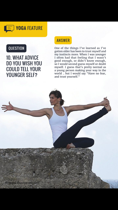 Asana International Yoga screenshot four