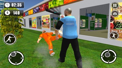 Super-Market Prison Escape 3D: Police Chase & Truck Driving Game screenshot two