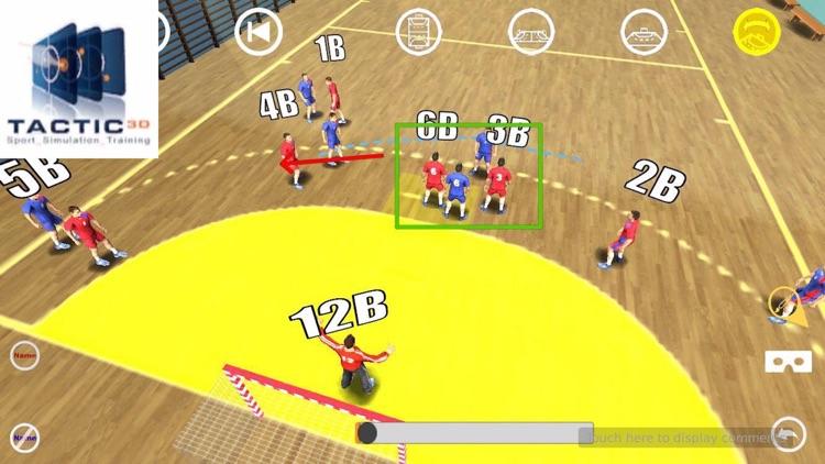 Handball 3D Tactics 2 screenshot-0