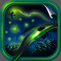 Firefly Wallpapers - Lightning Bug Theme.s For Glow.ing Background & Lock Screen