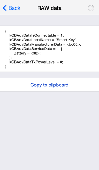点击获取Bluetooth Smart Scanner