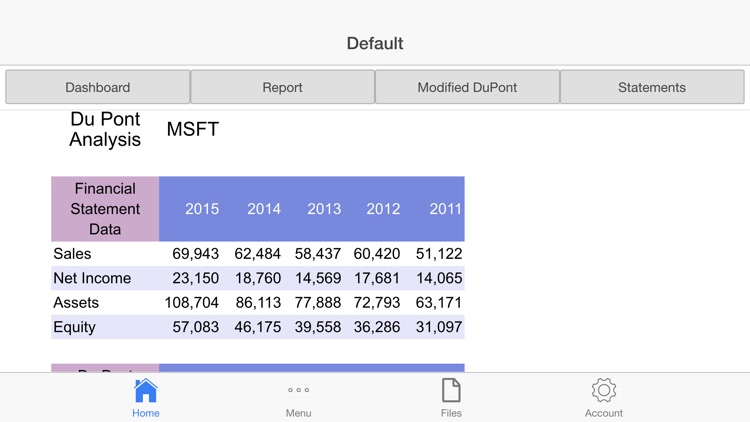 DuPont Analysis screenshot-4