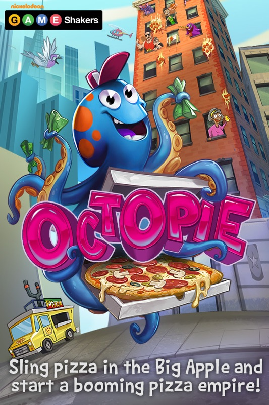 OctoPie a Game Shakers App Online Game Hack and Cheat