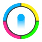 Dots Colour Game : Switch the colour dots to pass spiny wheels icon
