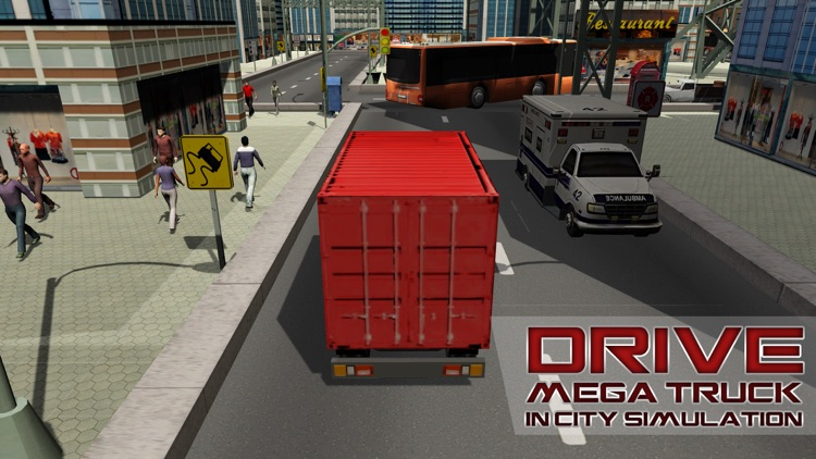 Mega Truck Driving School – Lorry driving & parking simulator game