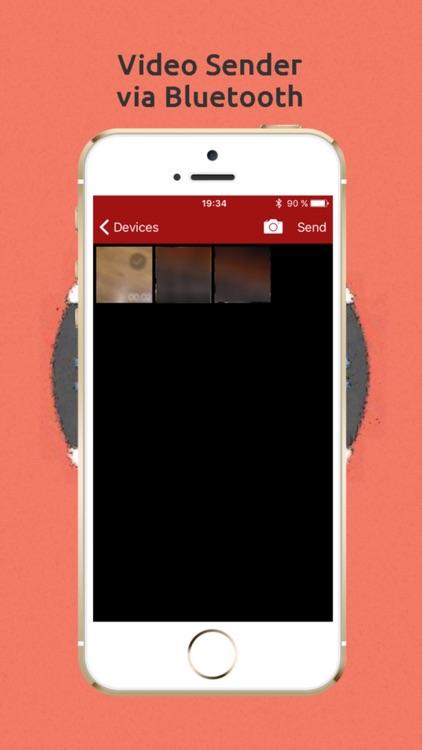Photo & Video Sender via Bluetooth