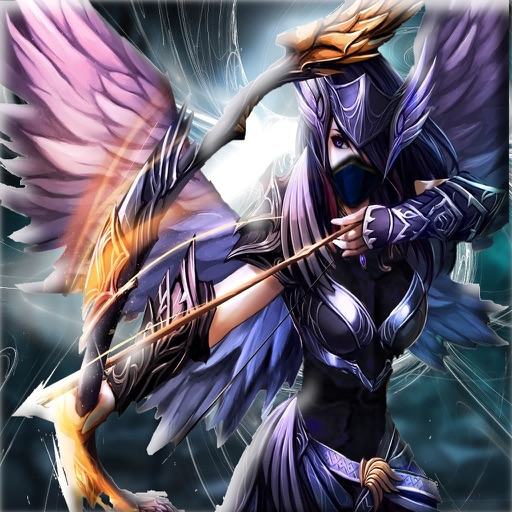 Angry Angel Arrow Dragon - Warriors of Secret Universe Battle